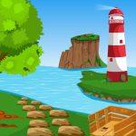 Coconut Tree Seashore Escape
