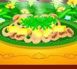 Crispy Calamari Mango Salad
