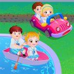 Baby Hazel Learns Vehicles