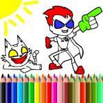 BTS Titans Coloring Book