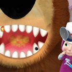 Girl And The Bear Dentist Game