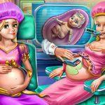Goldie Princesses Pregnant Check up