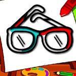 Easy Kids Coloring Glasses