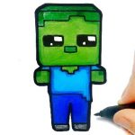 Easy Kids Coloring Minecraft at video-igrice.com
