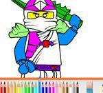 Lego Ninjago Pencil Coloring